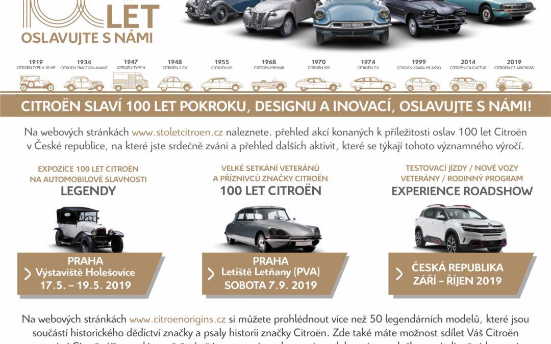 2019 – 100 let Citroen